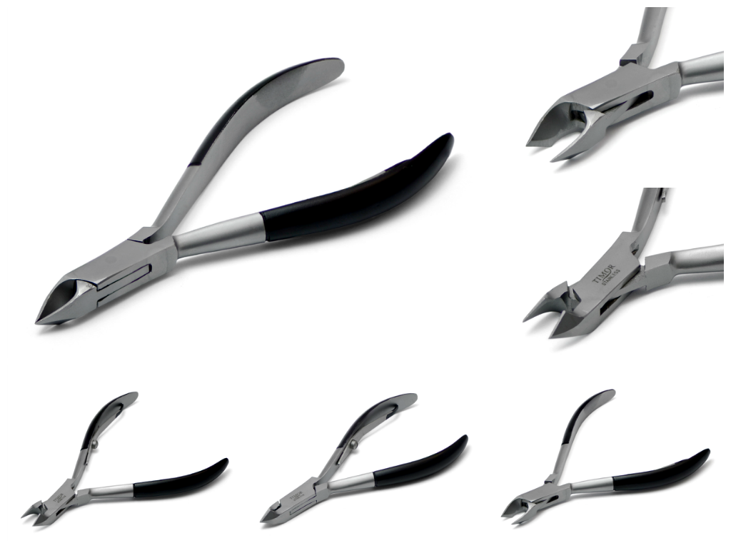 Cuticle nipper made of stainless steel
