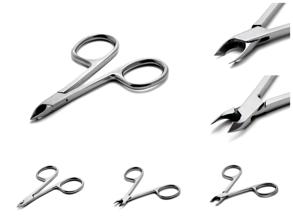 Cuticle pliers made of stainless steel
