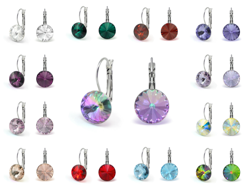 Earrings With Swarovski Crystals Next Product