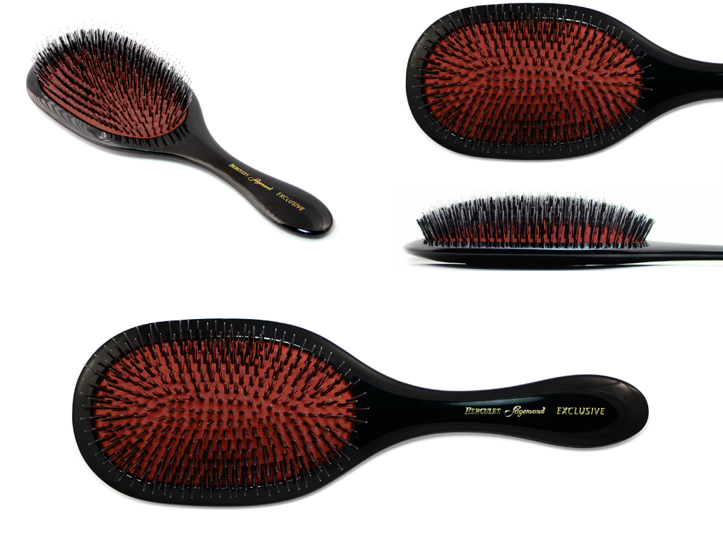 Exclusive large wellness oval hair brush