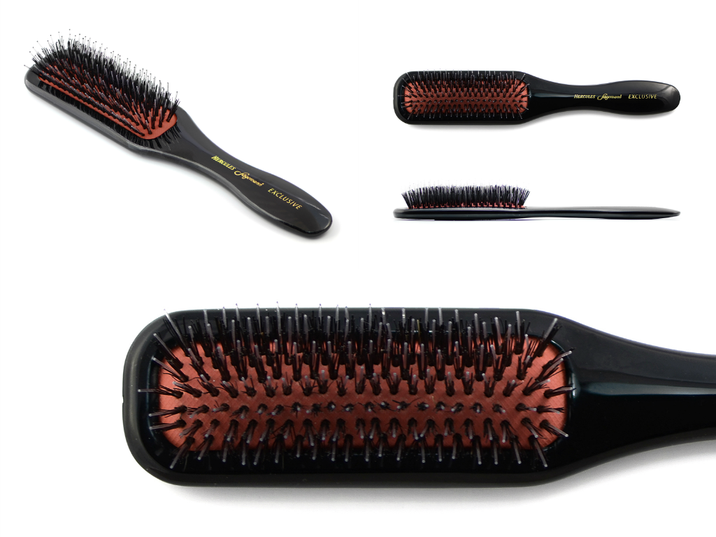 Exclusive thin wellness long hair brush