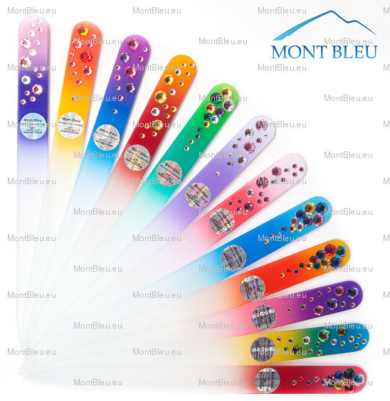 crystal glass nail files