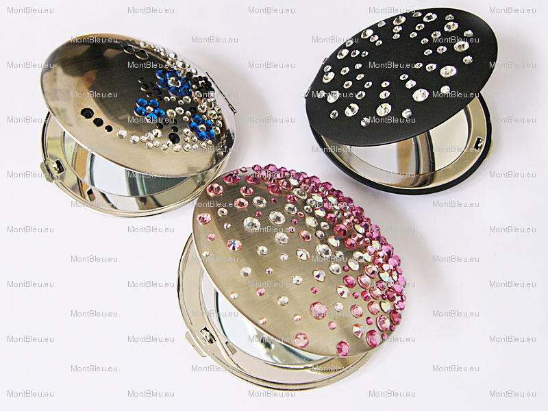 metal compacts mirrors
