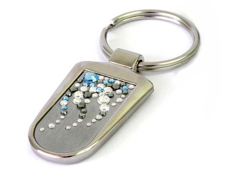 7afa1dfc6f1447 Key chains with Swarovski crystals ...