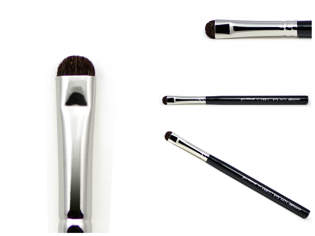 Eye-definer brush