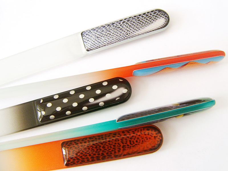promotional glass nail files