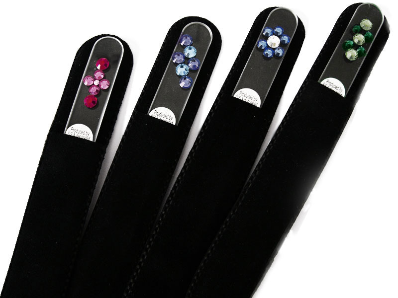 swarovski crystal nail files